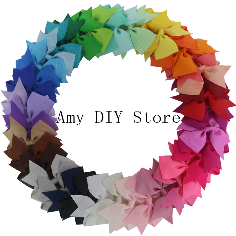 Free Shipping!200pcs 3.5 Grosgrain Ribbon Girls Pin Wheel hair bows WITHOUT clip,Girl Hair Bows Boutique Bow,Hair accessoriesÎäåæäà è àêñåññóàðû<br><br>
