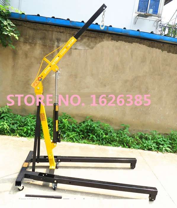 2Ton shop crane engine care auto engine crane jib crane lifting crane lifting hoist foldable(China (Mainland))