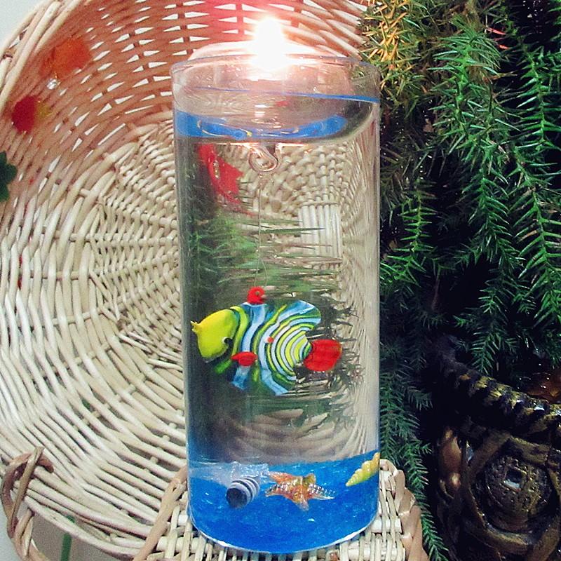 Poissons flottant bougies promotion achetez des poissons for Promotion poisson aquarium