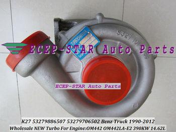 NEW K27 K27-442 53279886507 Turbo Turbocharger Fit For Mercedes Benz Truck Bus 1990-2012 Engine OM442 OM442LA E2 390KW 378KW