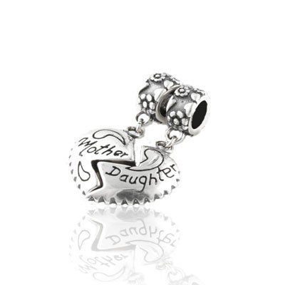 925 Sterling Silver Heart Tokens Ace Pendant Charms