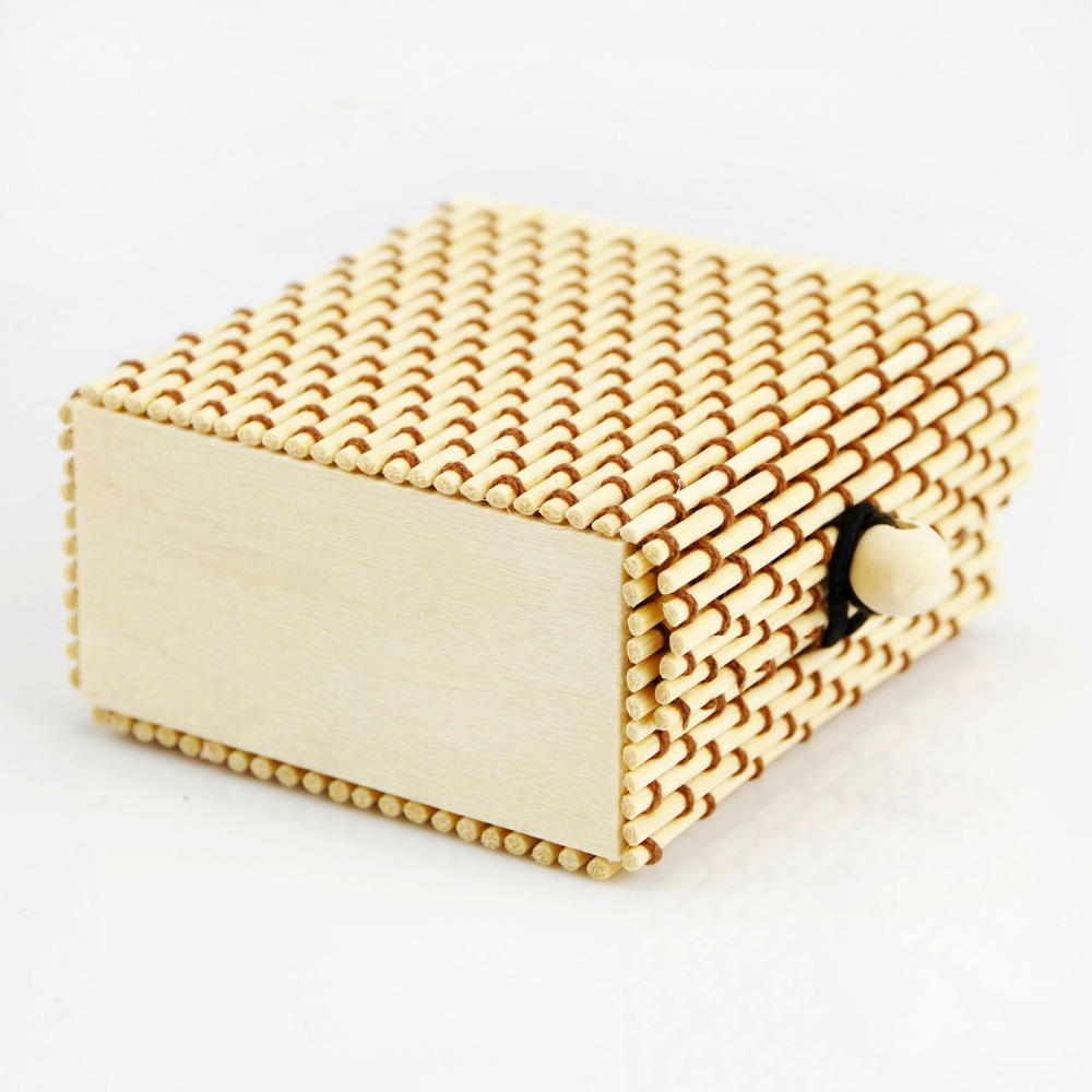 Hot Selling True Color Bamboo jewelry  box necklace Case  accessories box  Classic vintage High Quality  Wholesale free shipping<br><br>Aliexpress
