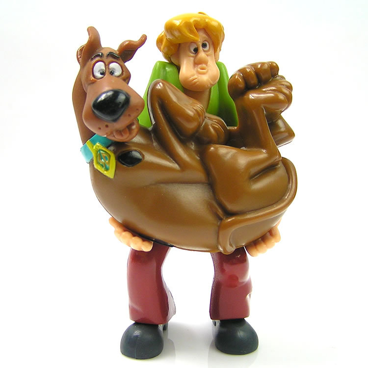 Scooby Doo Toys : Scooby doo wind up trembling dog and shaggy figures in