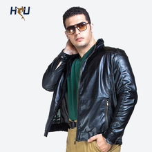 Free Shipping Winter Warm  Men's Faux Fur Leather Jacket, Big Size Jacket,Fashion Moto PU Outerwear Coat  2XL 3XL 4XL 5XL 6XL