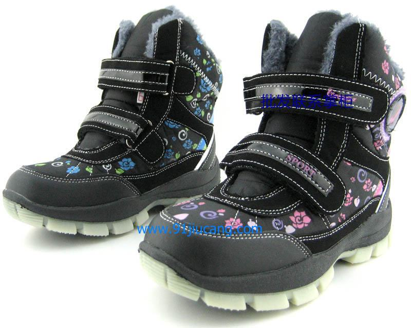 2014 winter children's shoes boys girls Kids riding /Martin boots Cotton padded Ankle snow - Chinesewarrior store
