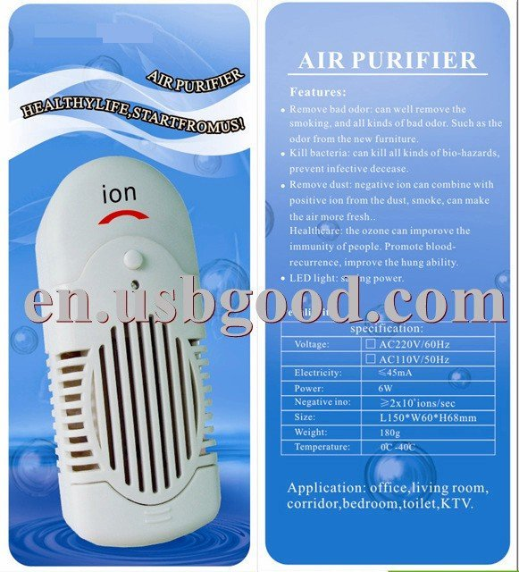 ionizer negative ion generator