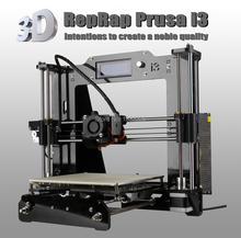 Big Print Size High Precision Reprap Prusa i3 DIY 3d Printer kit with 2 Roll Filament 8GB SD card+LCD for Free