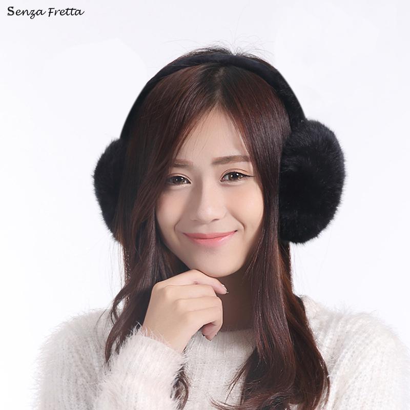 Women's Faux Fur Winter Ear Warmer Earmuffs Ear Muffs Earlap 10 Colors(China (Mainland))
