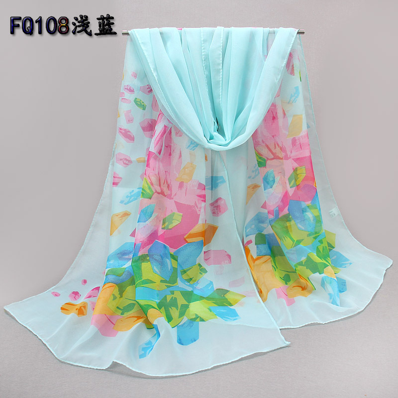 2015 New Style Chiffon Scarves Lady Spring Accessories Summer Sun Towel Thin Silk Scarf Fairy Elegant - Fashion item & Party Store store