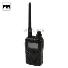 NF-368 Walkie Talkie with FM Radio / Dual Band Standby, Support 99 Memory Channels, Frequency Range: 400-470MHz