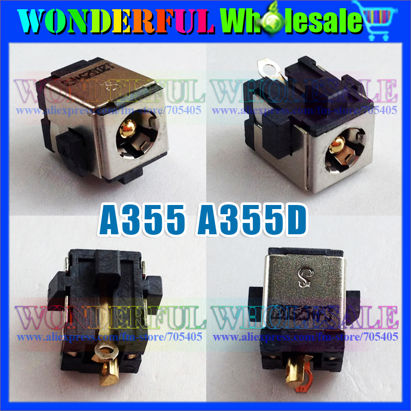 Freeshipping Original Laptop DC Power Jack for TOSHIBA Satellite A355 A355D<br><br>Aliexpress
