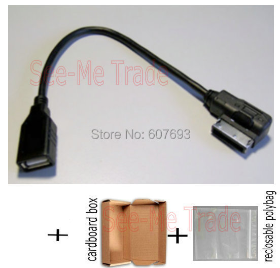 Popular Cable Volkswagen Mdi Usb Buy Cheap Cable: AMI MMI USB Interface Cable VW Skoda Car MDI Audio MP3