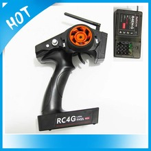 RadioLink 2.4G 4CH RC4G Transmitter with R4EH-G Receiver for RC Car Boat Radio Control System