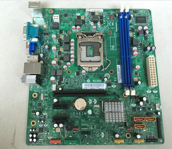 original motherboard for Lenovo IH61M V:4.2 LGA 1155 DDR3 for I3 I5 I7 CPU H61 Desktop motherboard Free shipping<br><br>Aliexpress