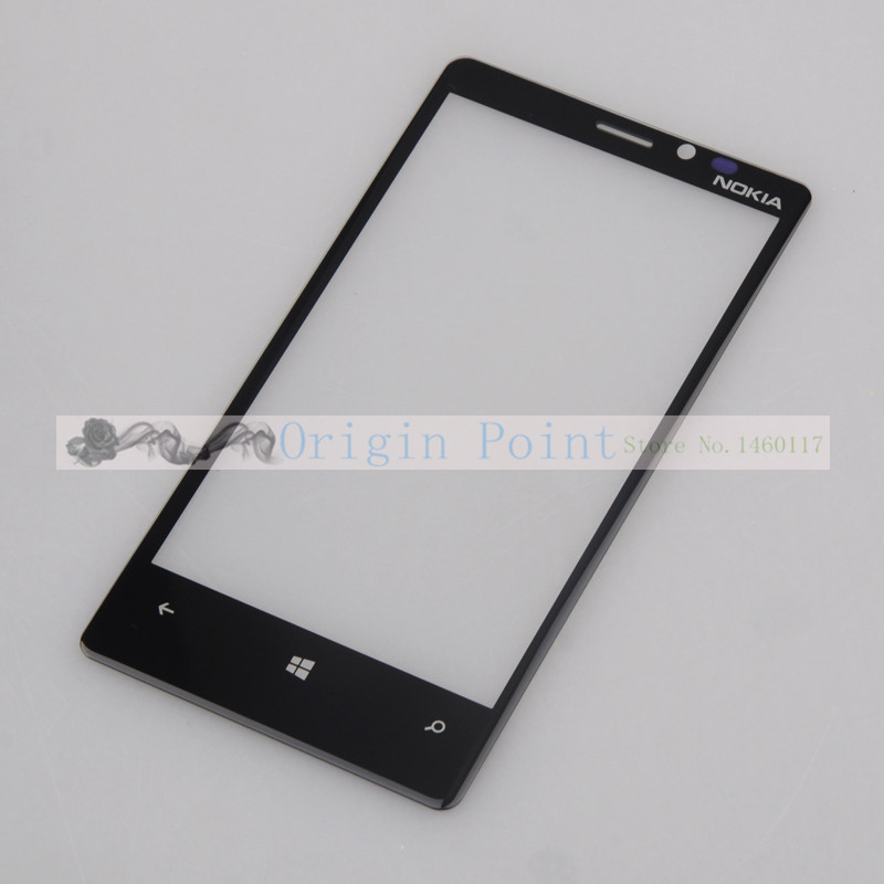 50 Pieces/Lot,New Original Outer Glass/lens for Nokia lumia920 lumia 920 LCD/digitizer touch screen(China (Mainland))
