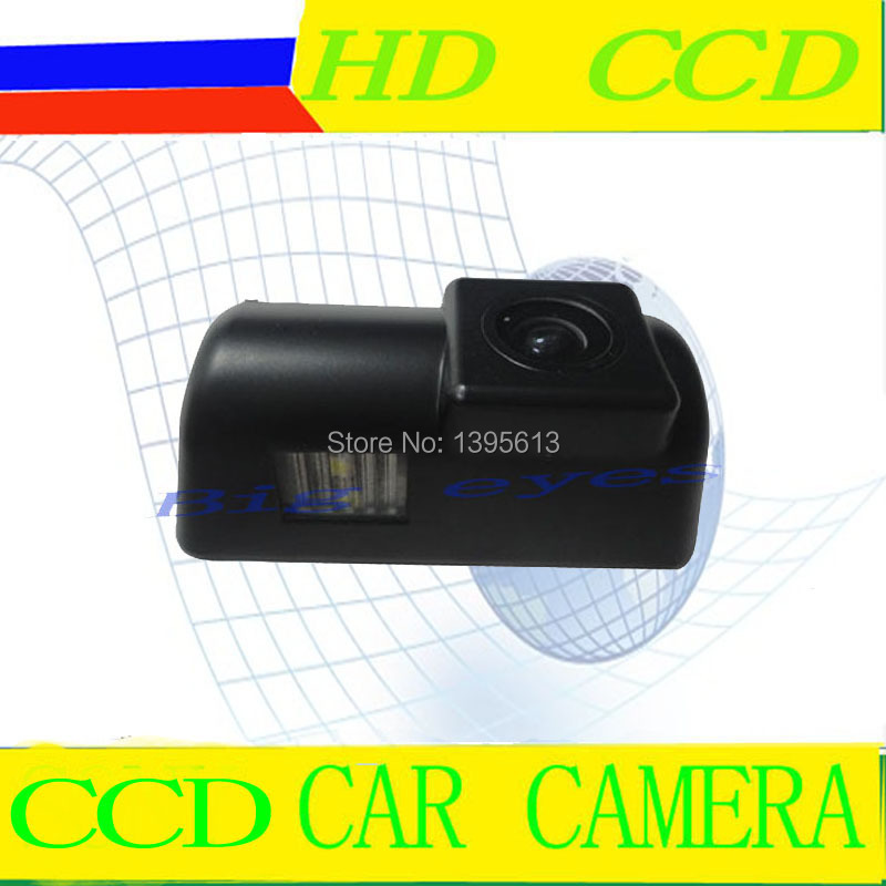 CCD Sensor car rear view license / number plate reverse Parking Back up Camera for Ford Transit(China (Mainland))