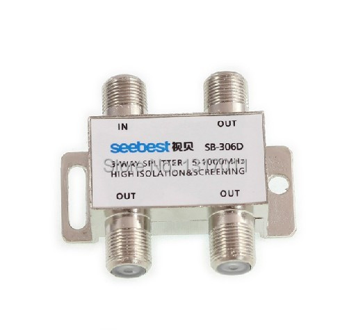 Seebest SB-306D 3 way CATV tap-off and splitter Outdoor splitter&tap off(China (Mainland))