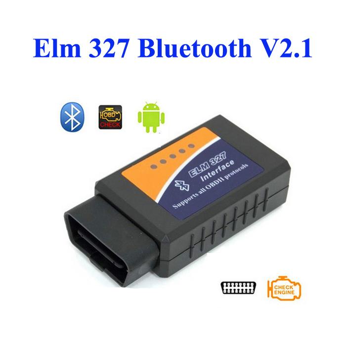2015 ELM 327 Bluetooth OBDII / OBD2 V2.1 ELM327 V1.5 Upgrade Vehicle Diagnostic Scanner Tool Reader Works On Android T0rque/PC(China (Mainland))