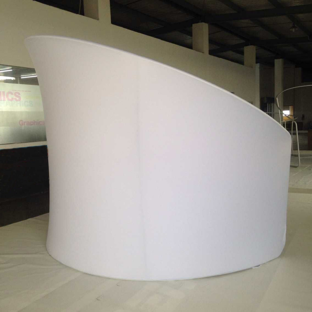 Exhibition Stand Tension Fabric : Aliexpress buy tradeshow booth semi circle portable