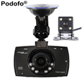 Car Camera Dual Lens 1080P Video Recorder Car DVRs Registrator With WDR Rear Back Car Camera