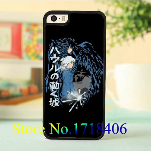Howl's Moving Castle 15 cell phone case cover for iphone 4 4s 5 5s 5c SE 6 6s & 6 plus 6s plus *E71E(China (Mainland))