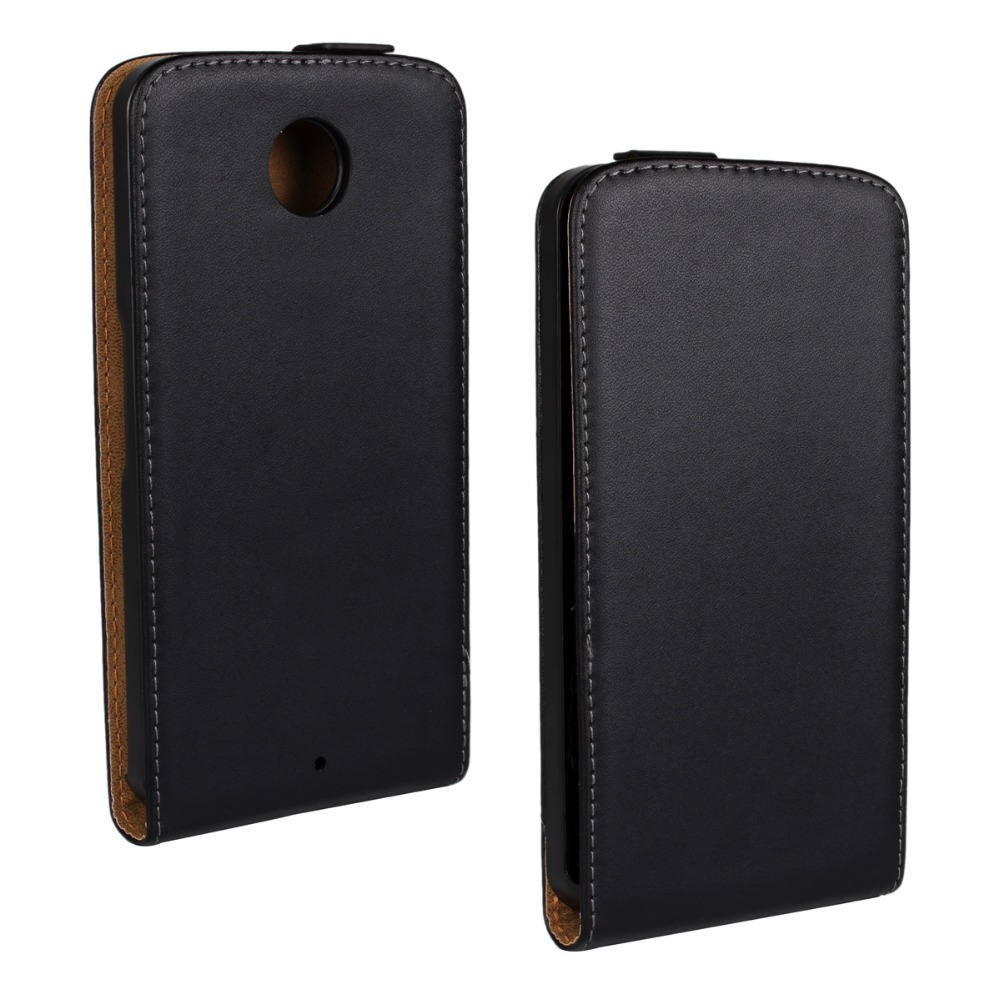 Luxury-Genuine-Leather-Bag-Mobile-Phone-Pouch-Vertical ...