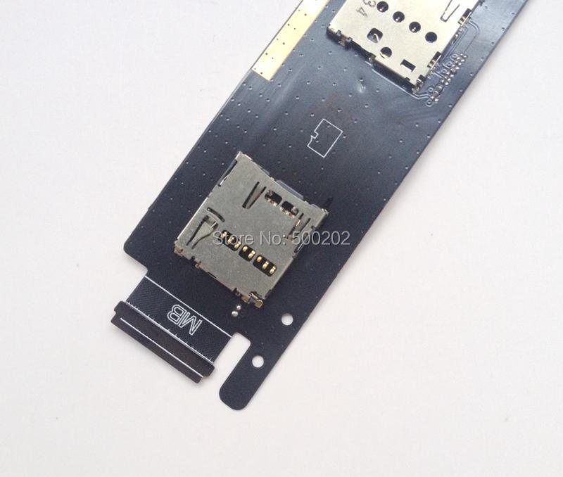 10pcs New SD Card+Dual SIM Card Reader Sim Card Connector Holder Flex Cable For ASUS Zenfone 6 3G Version HK Post Free Shipping(China (Mainland))