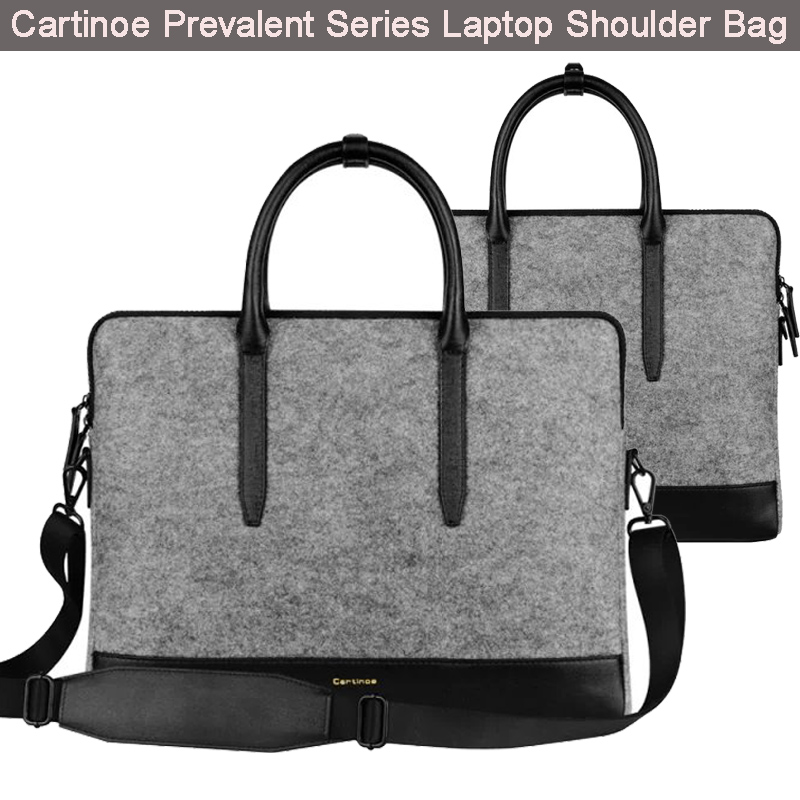 New Hot Cartinoe 13.3 15. 4 inch Wool Felt Laptop Shoulder Bag for Apple Macbook Air 11.6 12 / Pro Retina Handbag Case Briefcase(China (Mainland))