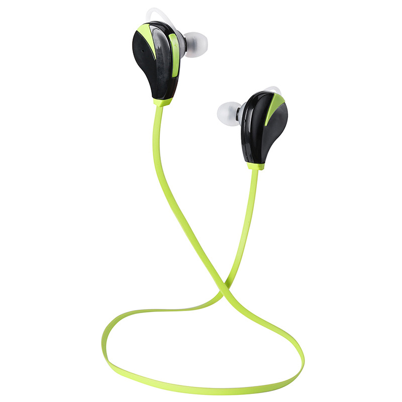 1PC Wireless Sport Headphone Green Bluetooth Music Mp3 Player For Iphone Android Smartphone Laptop Earphone Home Office Outwear(China (Mainland))