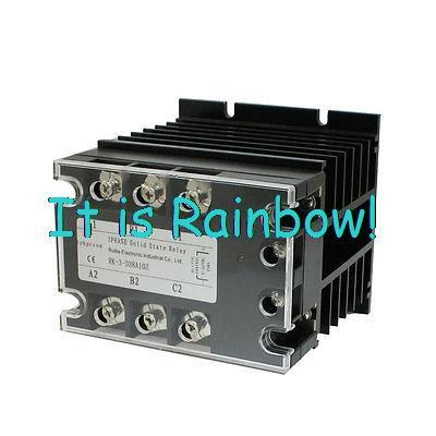 Free Shipping Control 5-32VDC Load 380VAC 10A SSR Solid State Relay w Heat Sink Alaow<br><br>Aliexpress