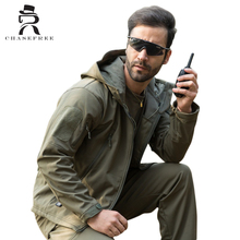 TAD Brand Jacket V4.0 Military Tactical Men Jacket Lurker Shark Skin Soft Shell Waterproof Windproof Men Winter Jacket Coat(China (Mainland))