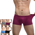Free Shipping 2016 New Men Hot Selling Sexy Fashion High Quality Underwear Men sBoxer Briefs Bulge