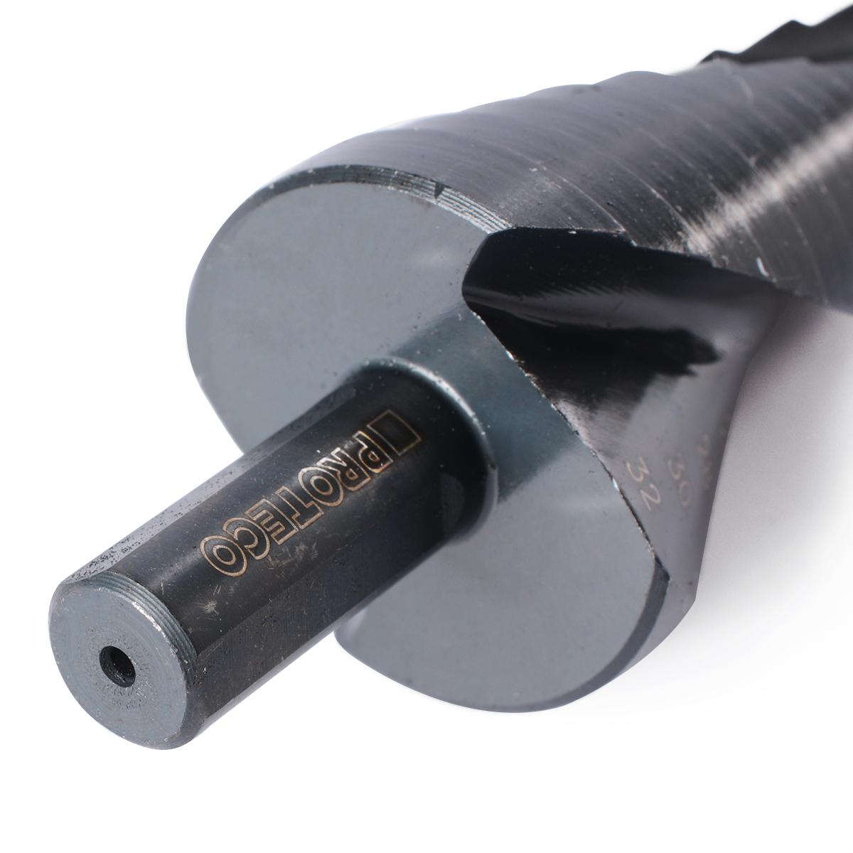8 steps 4-32mm Nitriding Black Step Reamer Cone drill