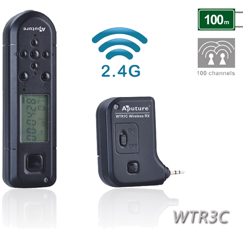 Aputure WTR3C Pro Coworker II Wireless Timer Remote Control for Canon 1D Nark IV 1D(s)Mark III 1D Mark III 5D Mark III II<br><br>Aliexpress