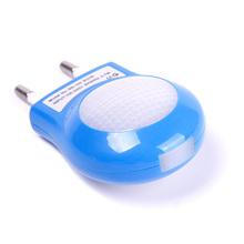 Mini Portable LED 0.7W Night Light Control Auto Sensor Baby Bedroom Lamp White EU Plug Hot Sale #64691