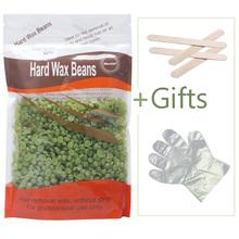 Buy 1Pcs 300g Hair Removal Hard Wax Bean Hot Film Depilatory Wax Facial Bikini Body Waxing Strip Needed Green Tea Flavor for $10.73 in AliExpress store