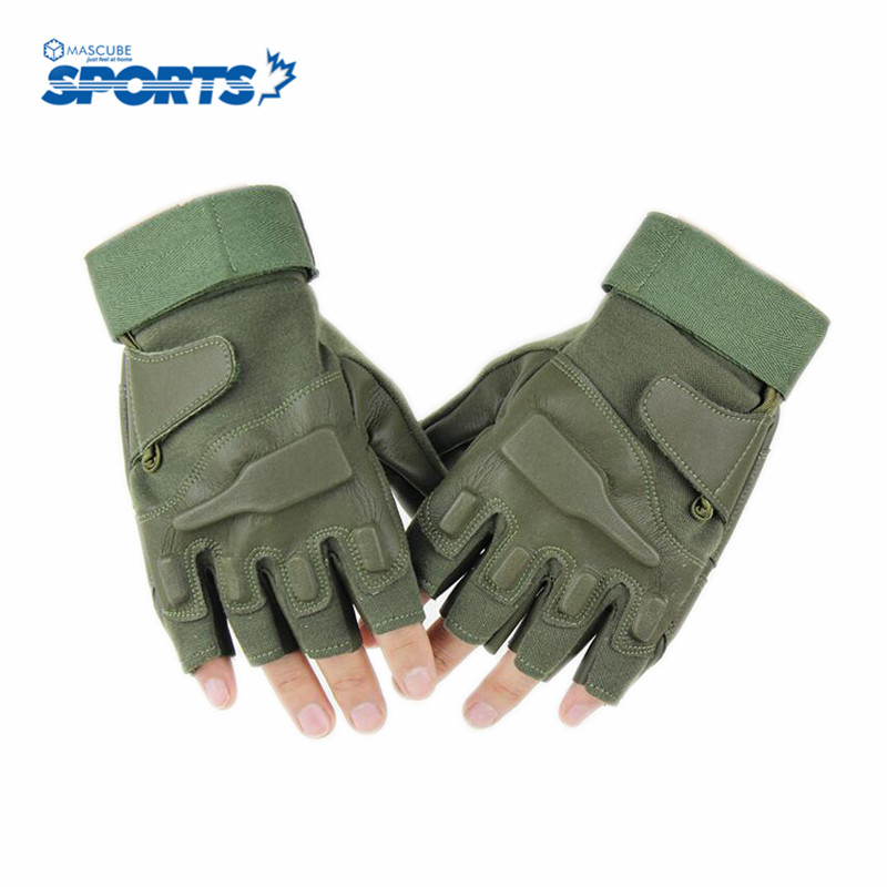 Hot Selling Breathable Cycling Gloves Exercise Fitness Sports Bike Non-slip Half Finger for Men Outdoor Sport Accessories(China (Mainland))