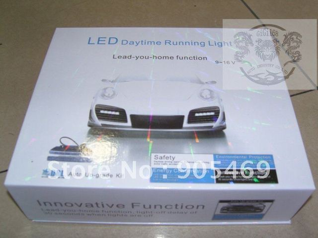 Wholesale!UNIVERSAL OME LED Daytime Running Light Kit Lamp EURO DRL DAY LIGHT Price various with different Quality