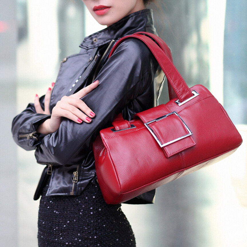 High quality Brand women genuine leather bag Luxury women bag High quality women fashion bags handbags women famous brands(China (Mainland))