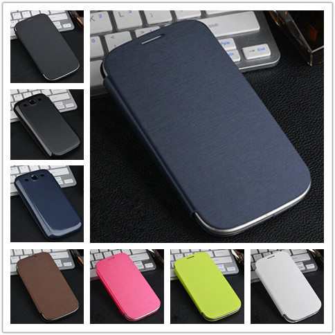 Flip PU Leather Back Battery Housing Case Cover Samsung Galaxy S3 SIII 3 i9300 9300 Mobile Phone - Shenzhen Nada Technology Co., Ltd. store