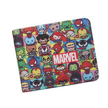 Personalized Avengers Wallets Bi-Fold DC Captain America Wallet Alliance Cartoon Comics Teenager Boys Girls Gift - MICHAELY KORCE STORE store