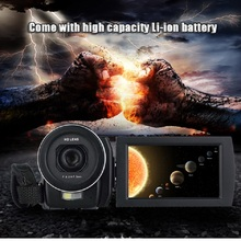 Buy Original Ordro HDV-F5 3 inch Touch Screen 24MP Digital Video Camera 16X Zoom Camcorder 1080P Full HD DV 5MP CMOS Excellent for $77.99 in AliExpress store