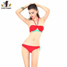 Buy AP 2017 Sexy Bikini Set Women Halter Bathing Suit Triangle Bikinis Beach Swimming Suit Swimwear Bandage Biquini Swimsuit for $12.99 in AliExpress store