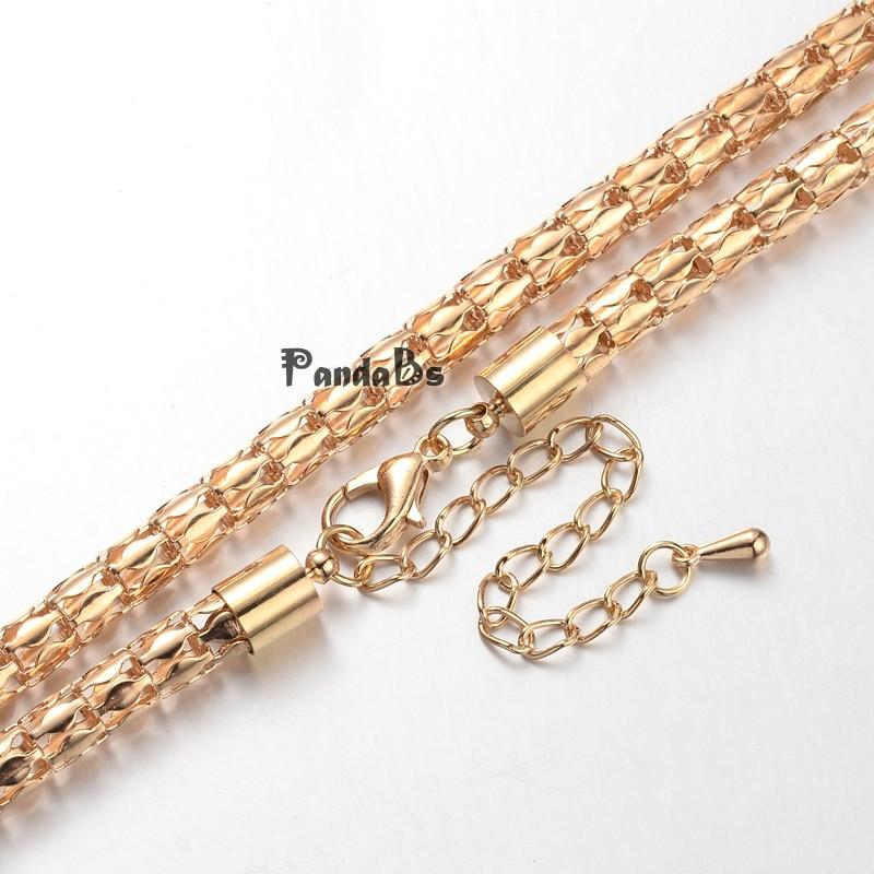 """Iron Lantern Chain Necklace Makings, with Brass Lobster Claw Clasps and Iron End Chains, KC Gold, 29.9""""(China (Mainland))"""