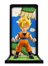 Counter genuine Bandai soul buddies Super Saiyan Dragon Ball changed Q version of the Monkey King