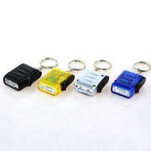 4pcs/lot Multi Colors 2-LED Mini Dynamo Wind-up Key Chain Torch LED Light Lighting Lamp Keychain Flashlight(China (Mainland))