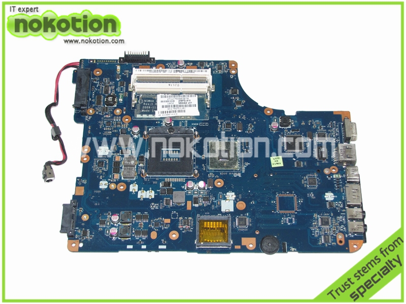 laptop motherboard for toshiba satellite L500 LA-5321P K000092540 HM55 GMA HD DDR3(China (Mainland))