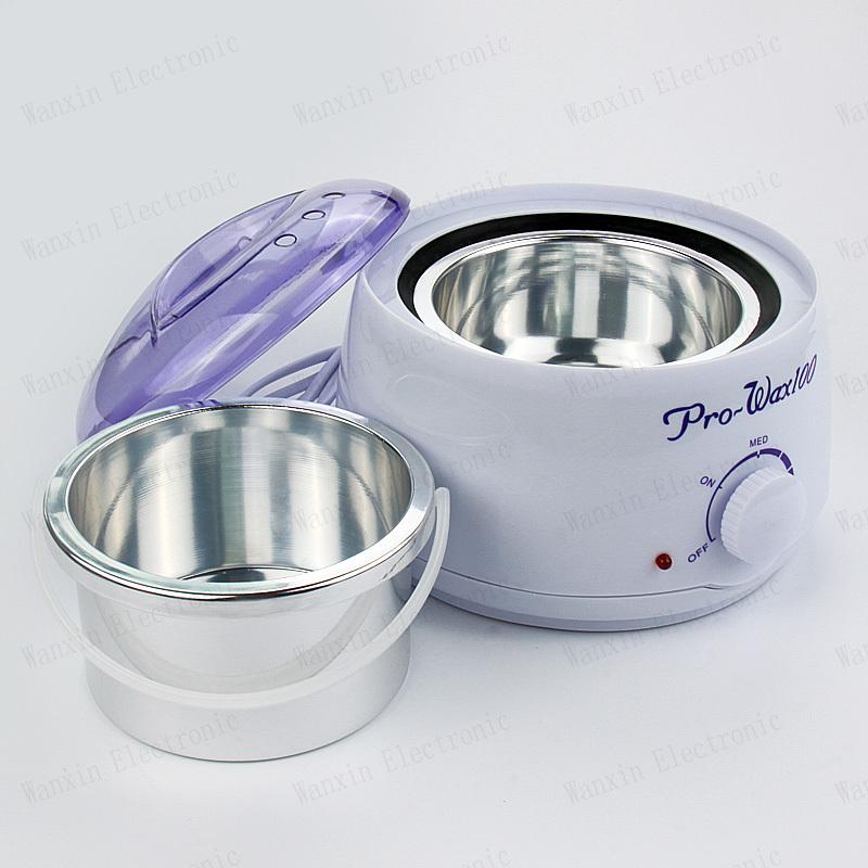New Nail Salon Acrylic UV Gel lamp Spa Wax Heater Manicure Paraffin Warmer Waxing 400ml Kit(China (Mainland))