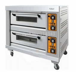 Electric convection oven with 2 layer 4 trays, hot sale electric convection oven/ bakert oven(Hong Kong)