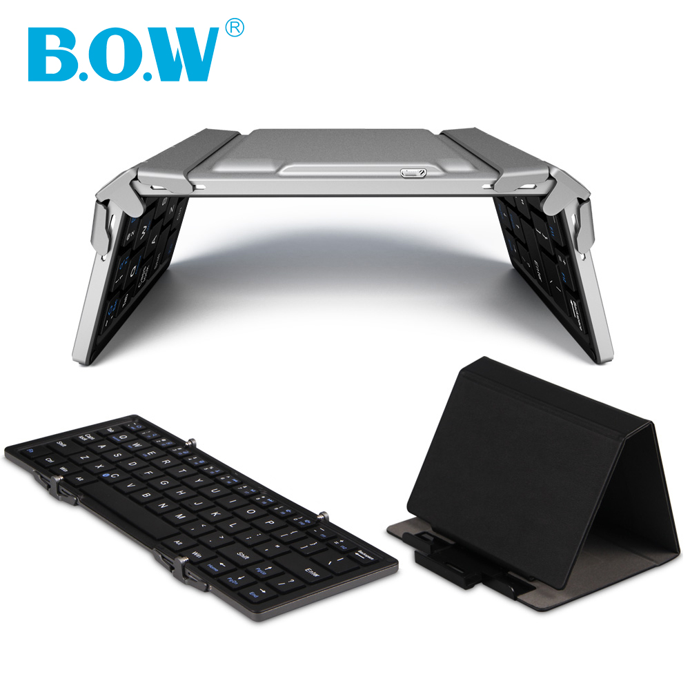 Portable Bluetooth Keyboard For iOS, Android, Windows, PC, Tablets and Smartphones, Built-in Lithium Battery and Aluminum Body(China (Mainland))
